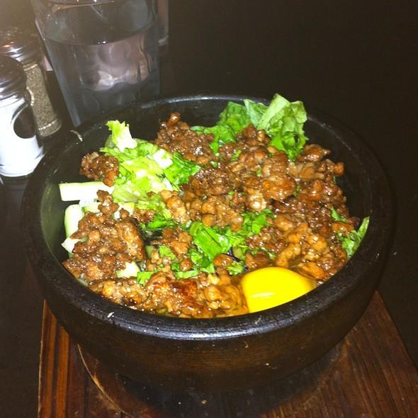Hot Plate ( With Shredded Pork) @ Hakata Ramen