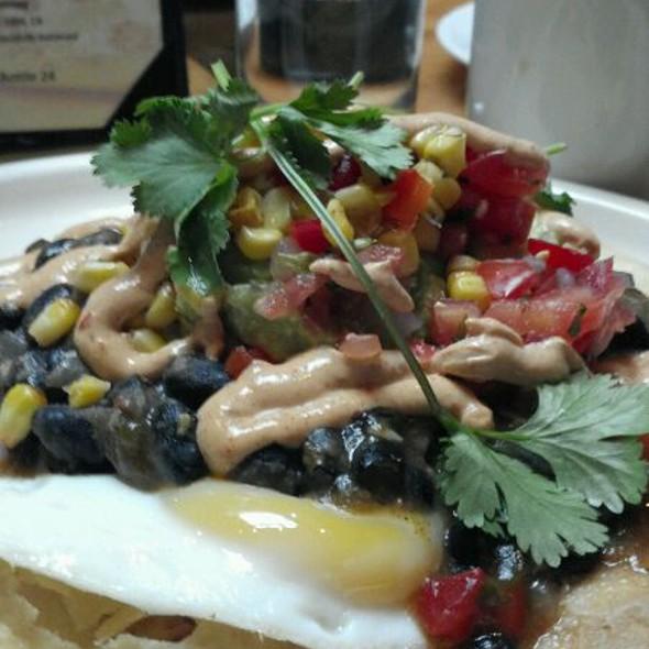 Huevos rancheros @ Matchbox Restaurant