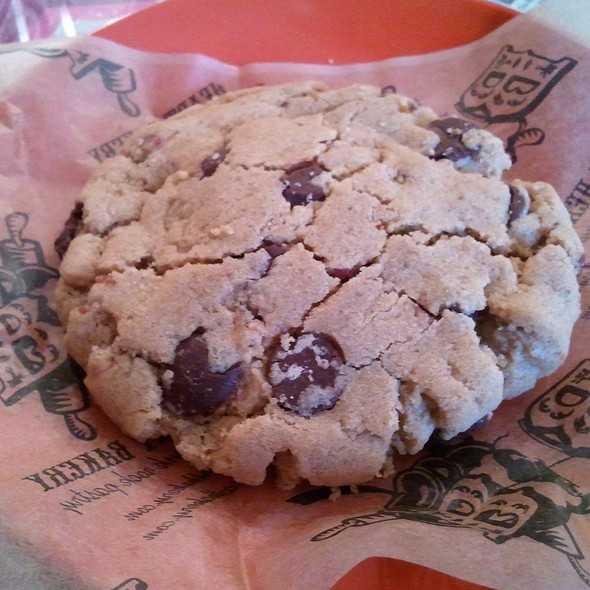 Bacon Chocolate Chip Cookie @ Bleeding Heart Bakery