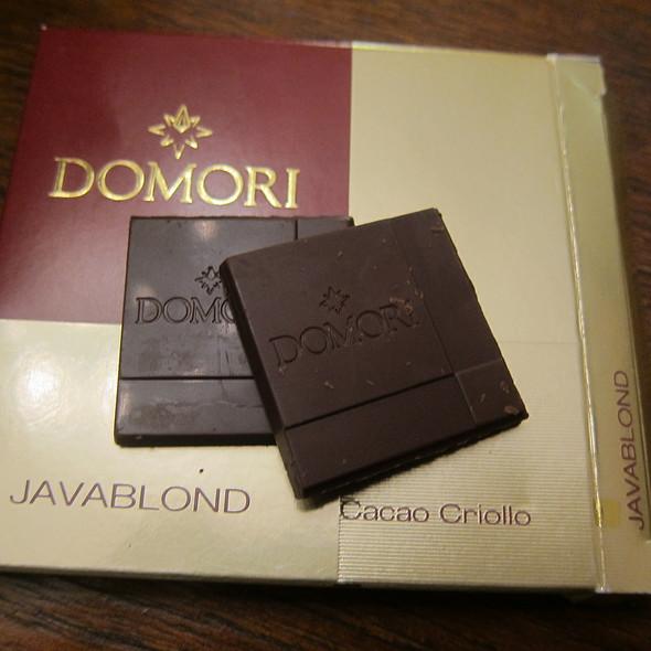 Domori Javablond @ Chocolate Bonavita