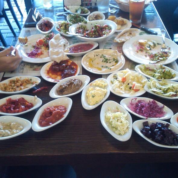Top 20 Israeli Salads - Itzik Hagadol Grill, Encino, CA