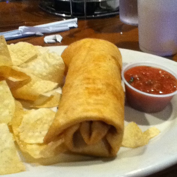 Steak Chimichonga @ The Derby