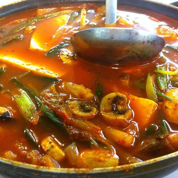 Mae Un Tang (spicy fish stew) @ Pacific Fish Center & Restaurant