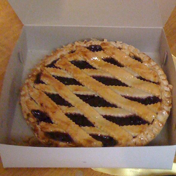 Blueberry Pie @ Crumbs Bake Shop Llc