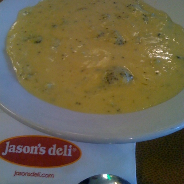 Broccoli Cheese Soup @ Jason's Deli