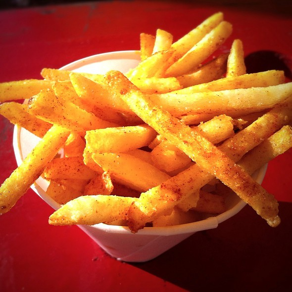 Chile-Dusted Fries