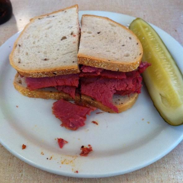 Classic Corned Beef Sandwich @ Jake's Delicatessen