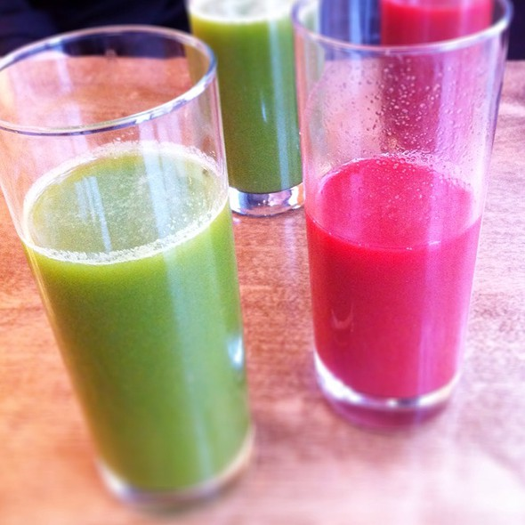 Raw Juices @ Belmonte Raw