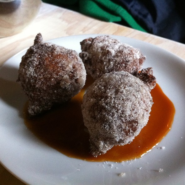 Pumpkin Doughnuts @ Cafe Superior The