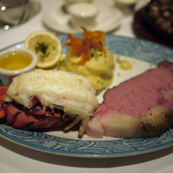 Lobster Tail And Prime Rib - Chart House Restaurant - Monterey, Monterey, CA