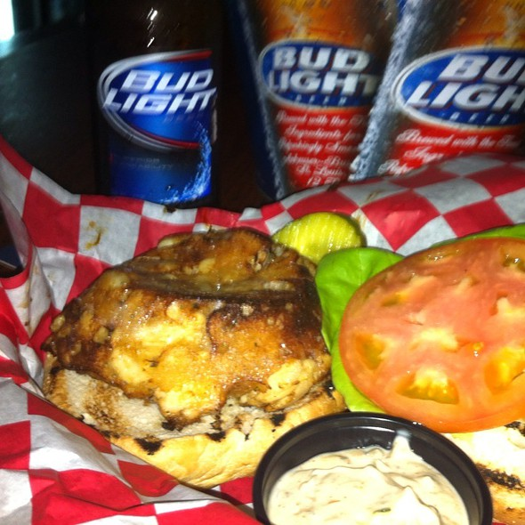Crab Cake Sandwich $2.00 Bud Light Bottle  @ Ropewalk Tavern