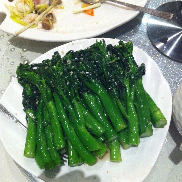 Gai lan and ginger @ Shanghai River Restaurant