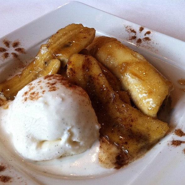Bananas Foster & Ice Cream @ Brennan's Houston