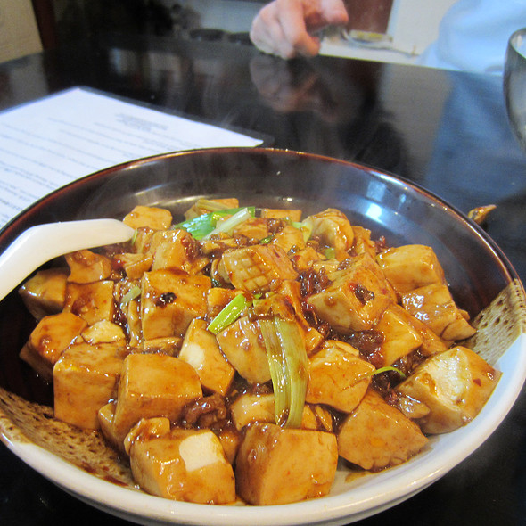 Mapo Tofu at Black Sesame Kitchen