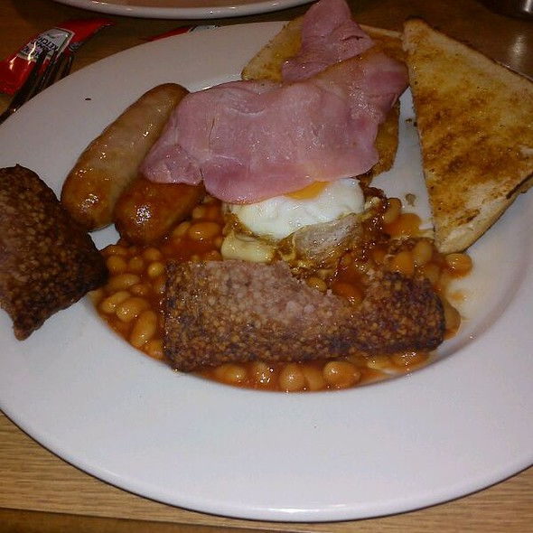 All Day Breakfast @ Sainsbury's