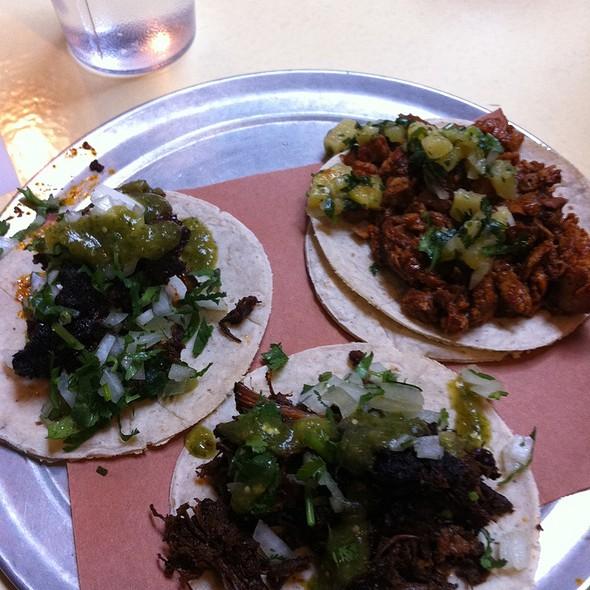 Barbacoa Tacos @ Tacombi @ Fonda Nolita