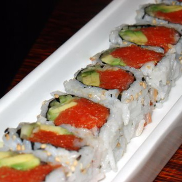 Spicy Tuna Maki @ Sushi Bistro