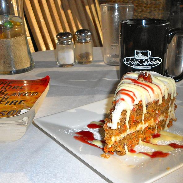 Carrot Cake - Island Lava Java Bistro, Kailua, HI