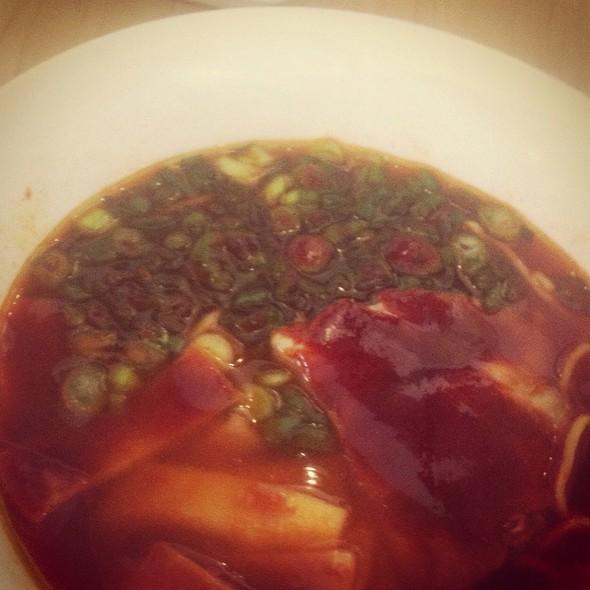 Green Onion And Chili Ramen @ Samurai Noodle