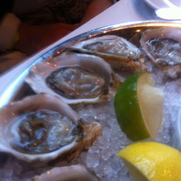 Kushi Oysters - Cork and Fin, Vancouver, BC