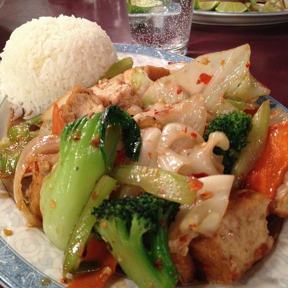 Tofu Vegetable Stir Fry