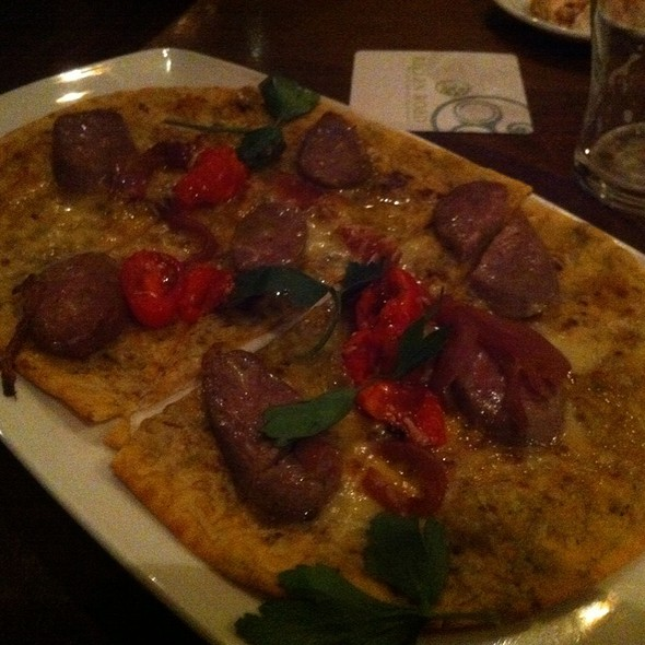 Sausage Flatbread Pizza @ Raglan Road Irish Pub