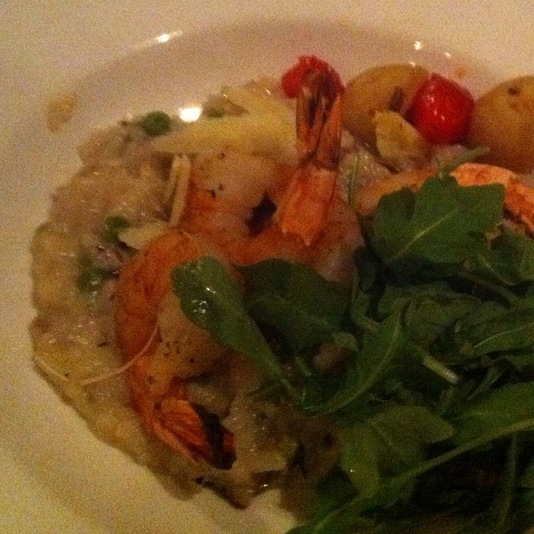Mushroom Risotto With Shrimp @ Raglan Road Irish Pub