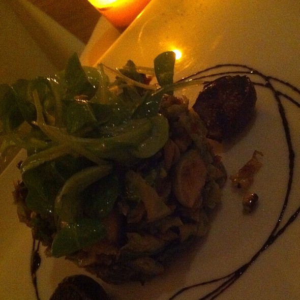 Brussels Sprout Leaves Salad @ Danny Brown Wine Bar & Kitchen