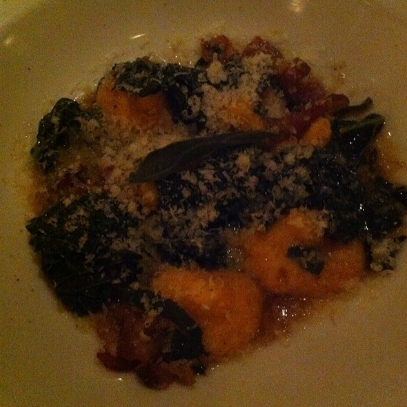 Pumpkin Gnocchi @ Danny Brown Wine Bar & Kitchen