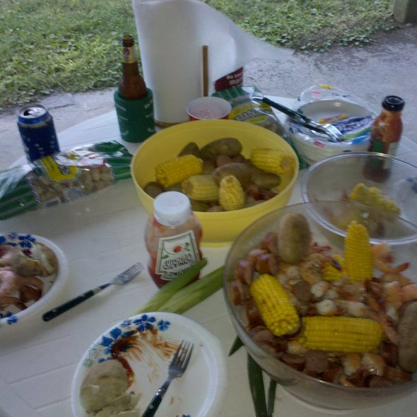 Low Country Boil @ Edisto Beach, SC