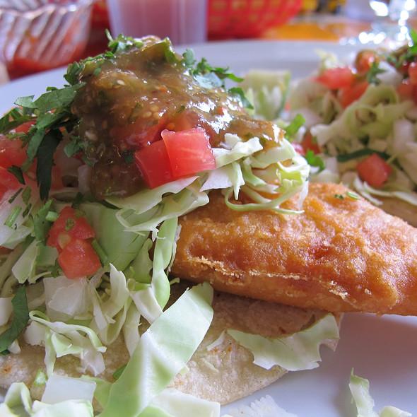 Corona fish tacos