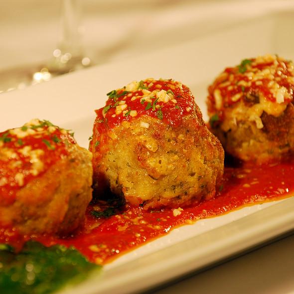 Tenderloin Stuffed Meatballs @ Salvatore's Italian Gardens