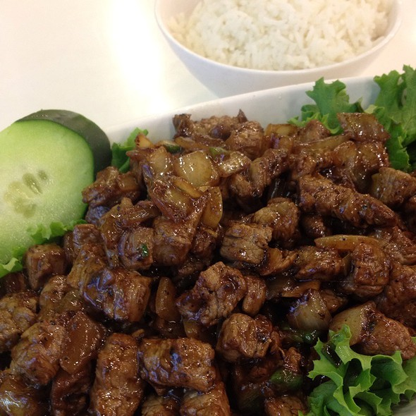 Beef Cubes @ Joy Yee's Noodle Shop