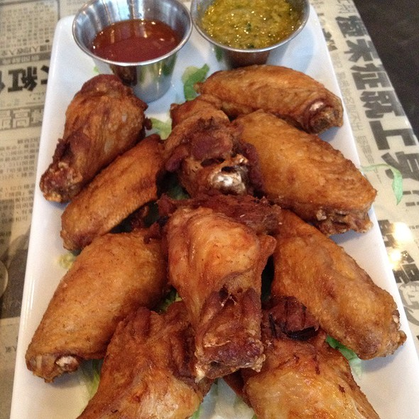 Chicken Wings @ Hawkers Asian Street Fare