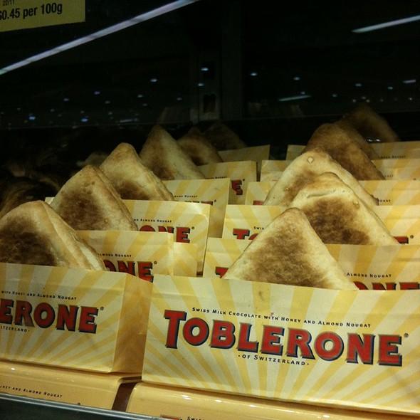 Toblerone Pastie @ Woolworths