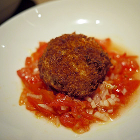 Dungeness Crab Cake - Passionfish, Pacific Grove, CA