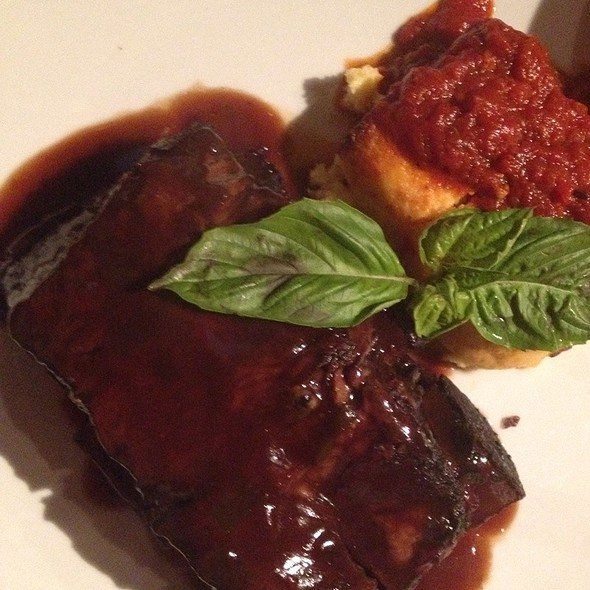 Beef Short Ribs With Polenta - Graziano's Miami, Miami, FL