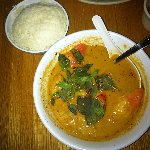Panang Curry With Seafood @ Thai Taste