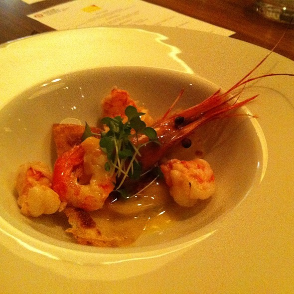 Grilled Spot Prawns/Brazilian Scampi/Lobster Ravioli - Alloy, Calgary, AB