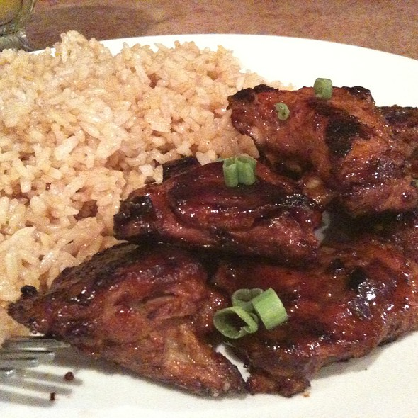 Pork Riblets With Fried Rice @ Malaya Fil-American Restaurant