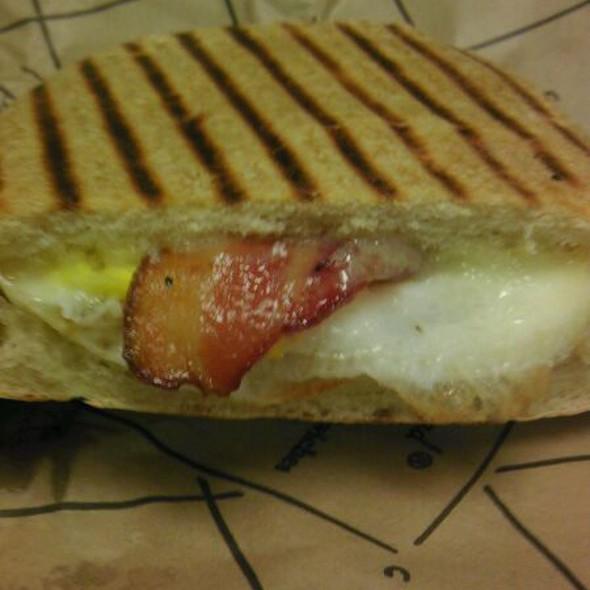 Bacon Egg and Cheese on Ciabatta @ Panera Bread