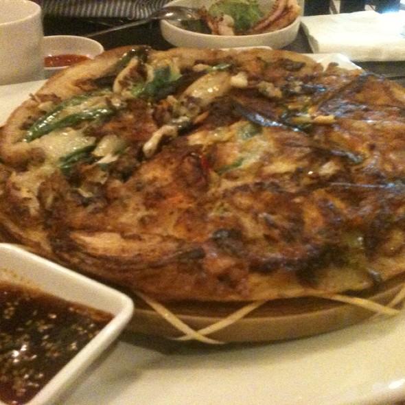 Seafood Pancake @ Tosung Firewood BBQ Restaurant