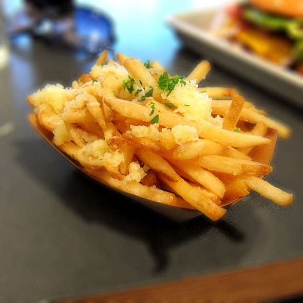 Garlic Fries @ Super Duper Burger