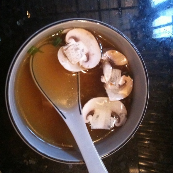 Onion and Mushroom Soup @ Fuji Restaurant