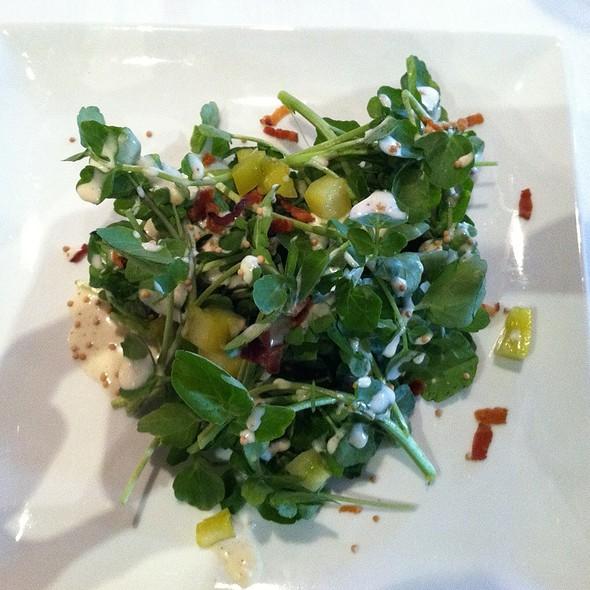 Crunchy Watercress Salad @ Watercress