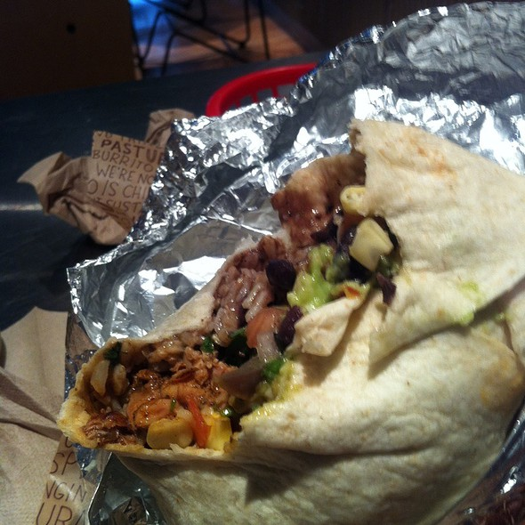 Chicken Burrito @ Chipotle Mexican Grill
