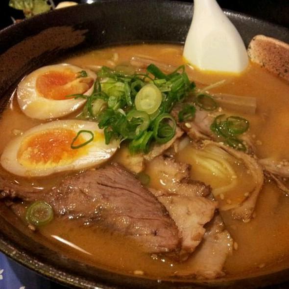 Miso Noodle Soup @ Naniwa Noodles & Soups