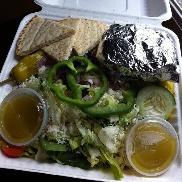 Greek Salad @ Zoës Kitchen