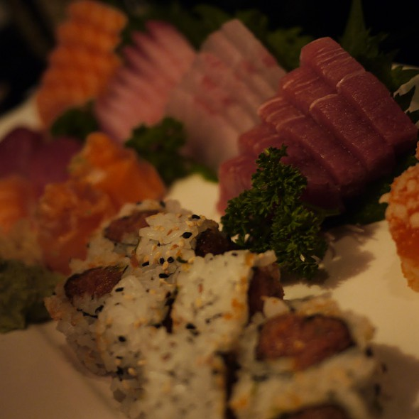 Sushi and Sashimi @ Naga
