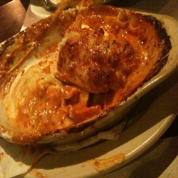 Four Cheese Lasagna - Lasagna Restaurant, New York, NY